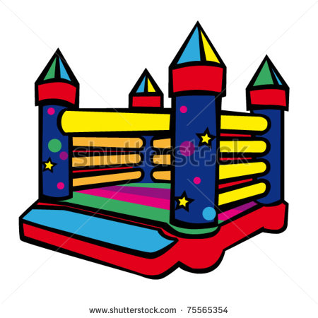 450x450 Bouncy Castle Clipart
