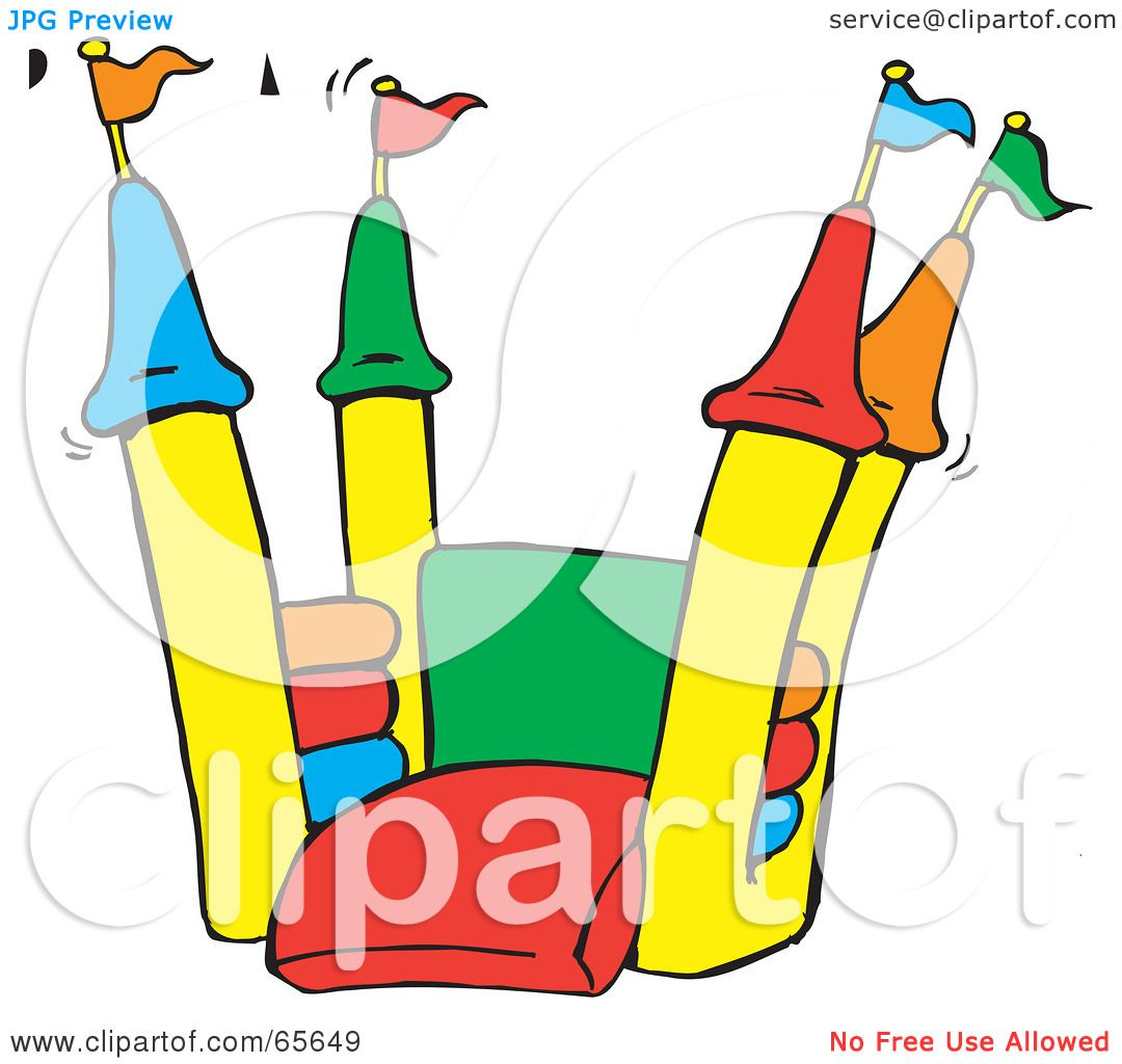 Inflatable Slide Clip Art: Free Download Best Bounce House