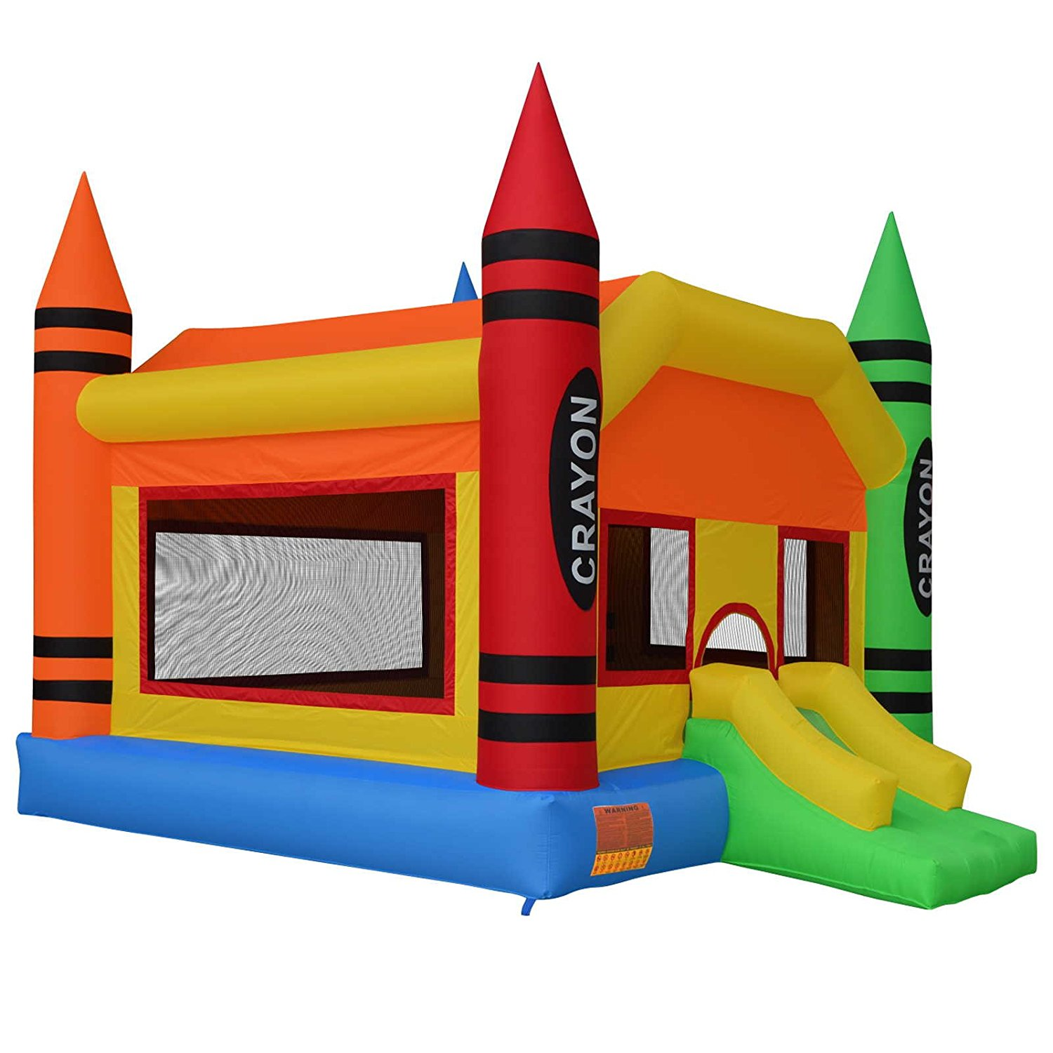 1500x1500 Cloud 9 The Crayon Bounce House