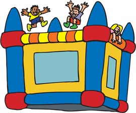 270x224 Bounce House Clip Art