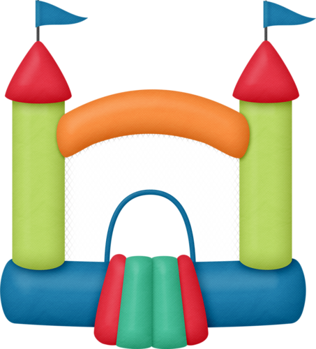 453x500 Bounce House Clipart Clip Art, Filing Papers