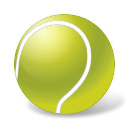 256x256 Bouncing Tennis Ball Clipart Free Images 3