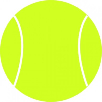 404x404 Picture Of A Tennis Ball Clipart Free To Use Clip Art Resource