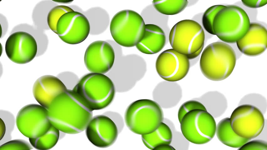 852x480 Tennis Ball Bounce (Hd). You Can Use This As A Transition