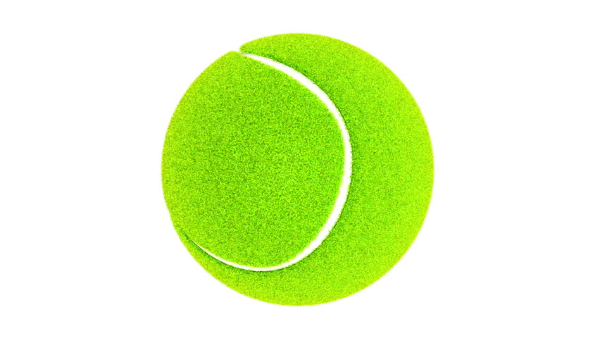 852x480 Tennis Ball Bouncing Close Shot Stock Footage Video 2126525