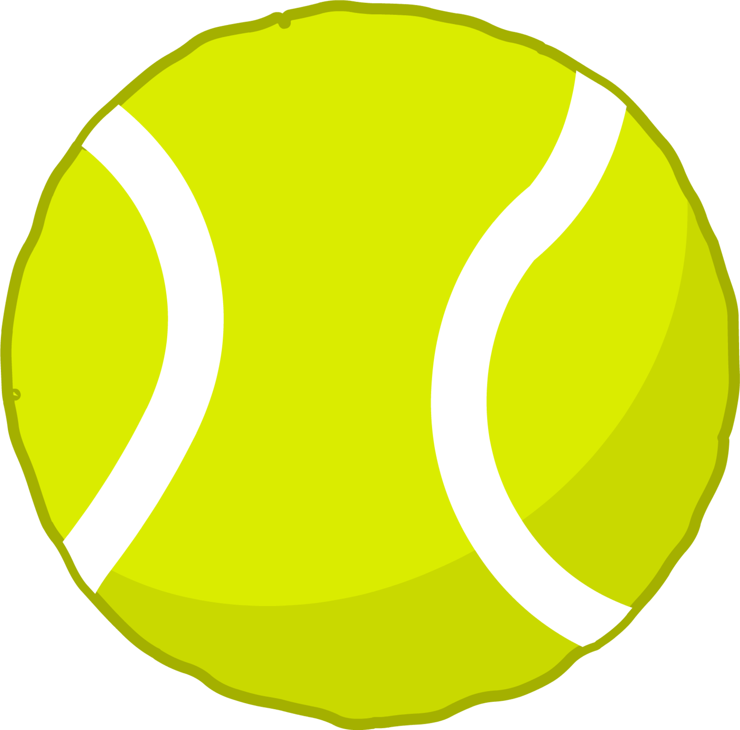 1518x1499 Tennis Ball Clipart