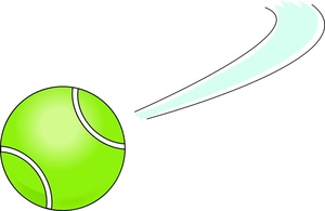 300x195 Tennis Ball Clipart Cartoon
