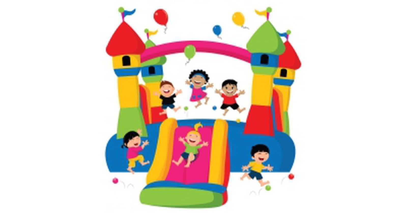 Bouncy House Clipart