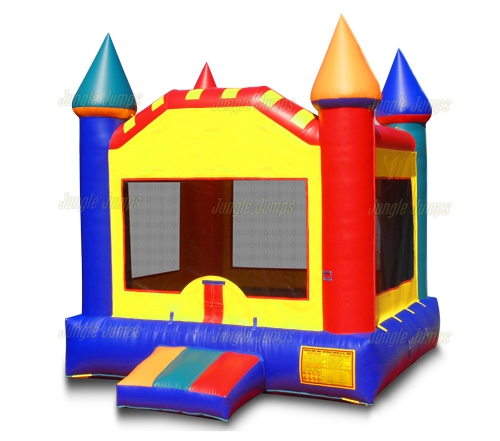 500x441 Inflatable Bounce Houses Colorful Moonwalk Castle Is An Inflatable