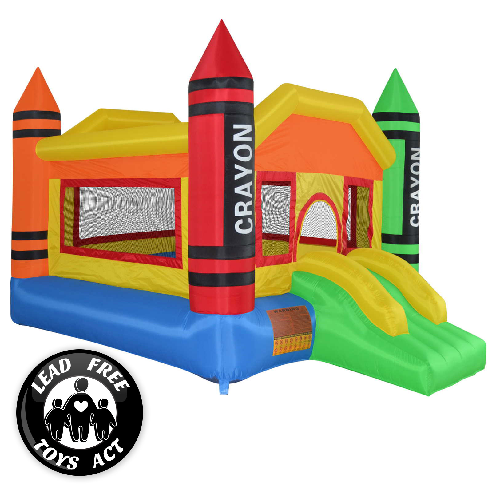 1600x1600 Mighty Bounce House