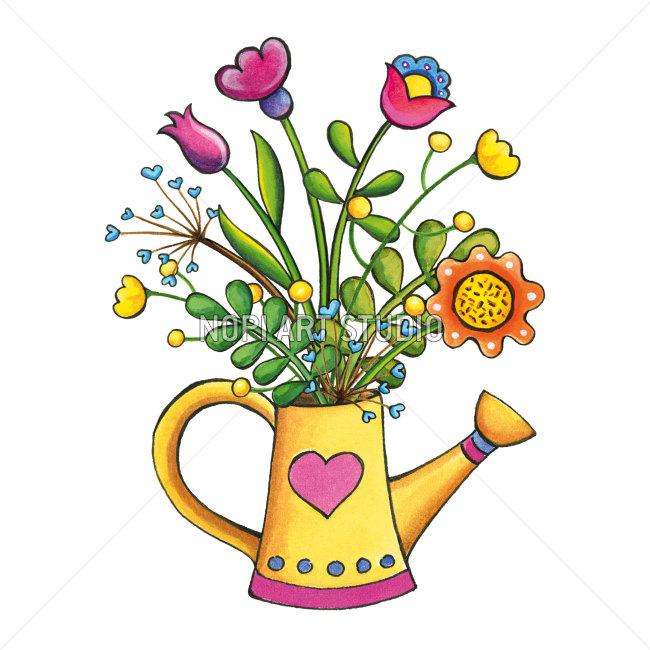 650x650 Bouquet Clipart Summer Flower