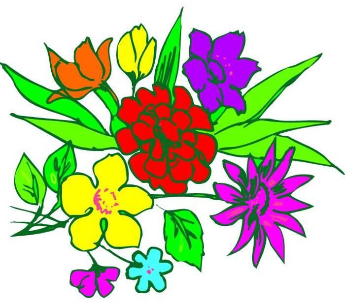 700x618 Flower Arrangements Clipart