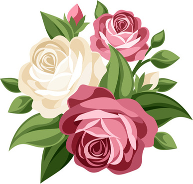 387x368 Flower Bouquet Clip Art Free Vector Download (214,005 Free Vector