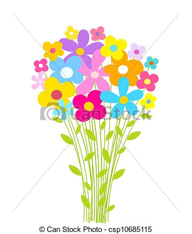 386x470 Bouquet Of Flowers Clip Art