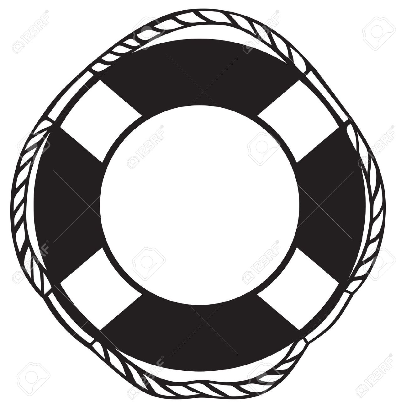 1263x1300 Life Preserver Clipart Black And White