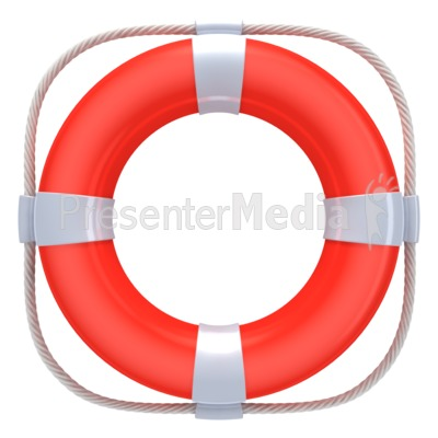 400x400 Red Life Buoy