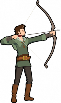 Bow And Arrows Clipart