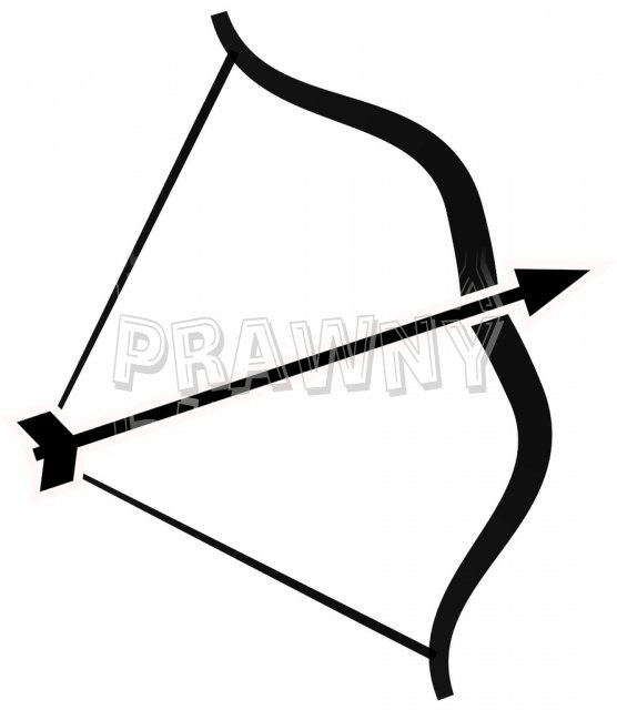 556x640 Bow Arrow Clip Art