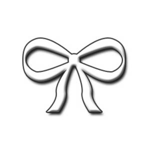 300x300 White Bow Clipart, Explore Pictures