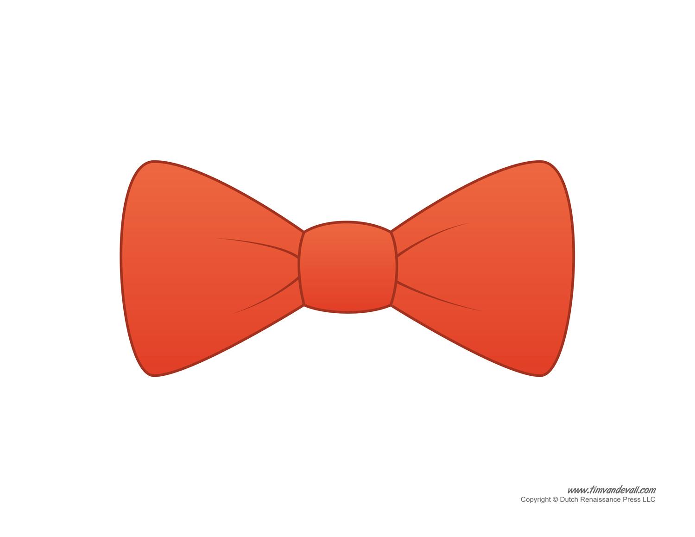 1500x1159 Paper Bow Tie Templates Bow Tie Printables