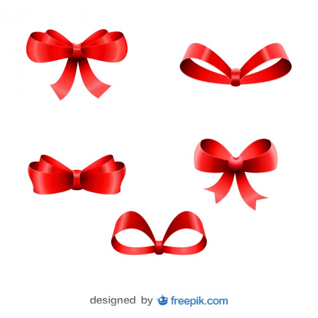 626x626 Colored Bow Ties Vector Free Download