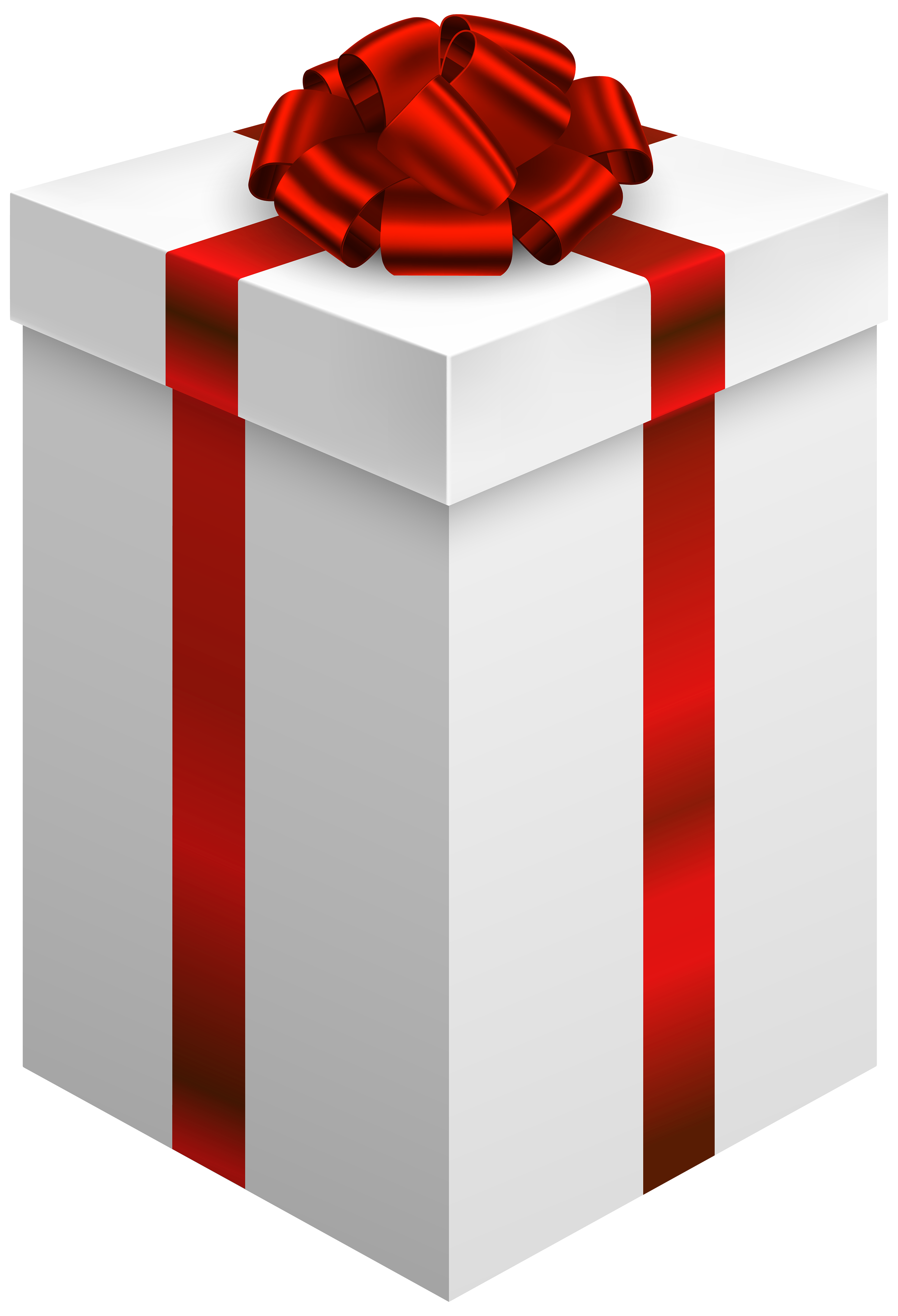2728x4000 Gift Box With Red Bow Png Clipart