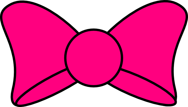 600x342 Minnie Mouse Bow Clipart