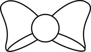 300x171 Bow Tie Clipart Simple