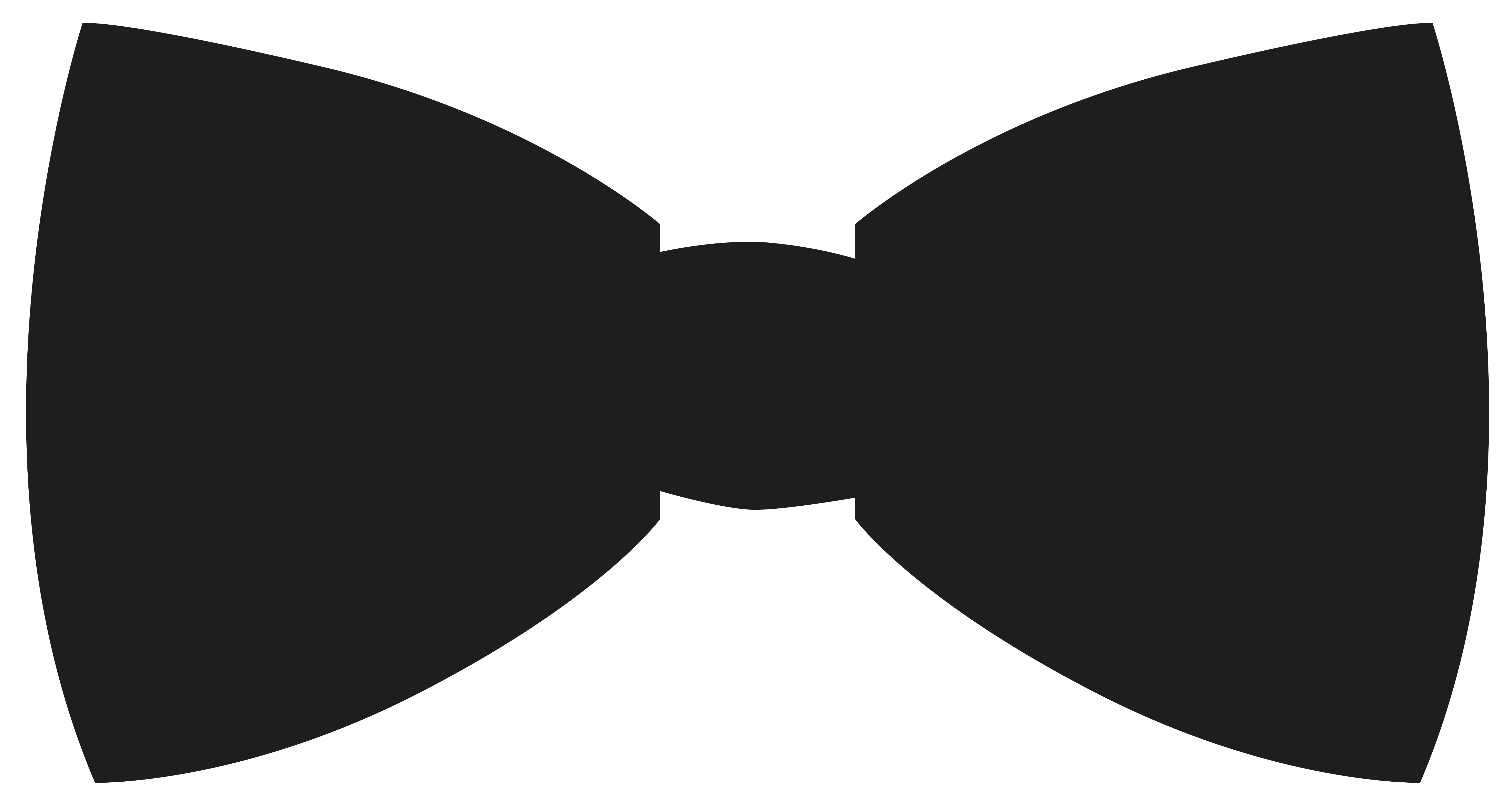 5906x3160 Clipart Bow Tie