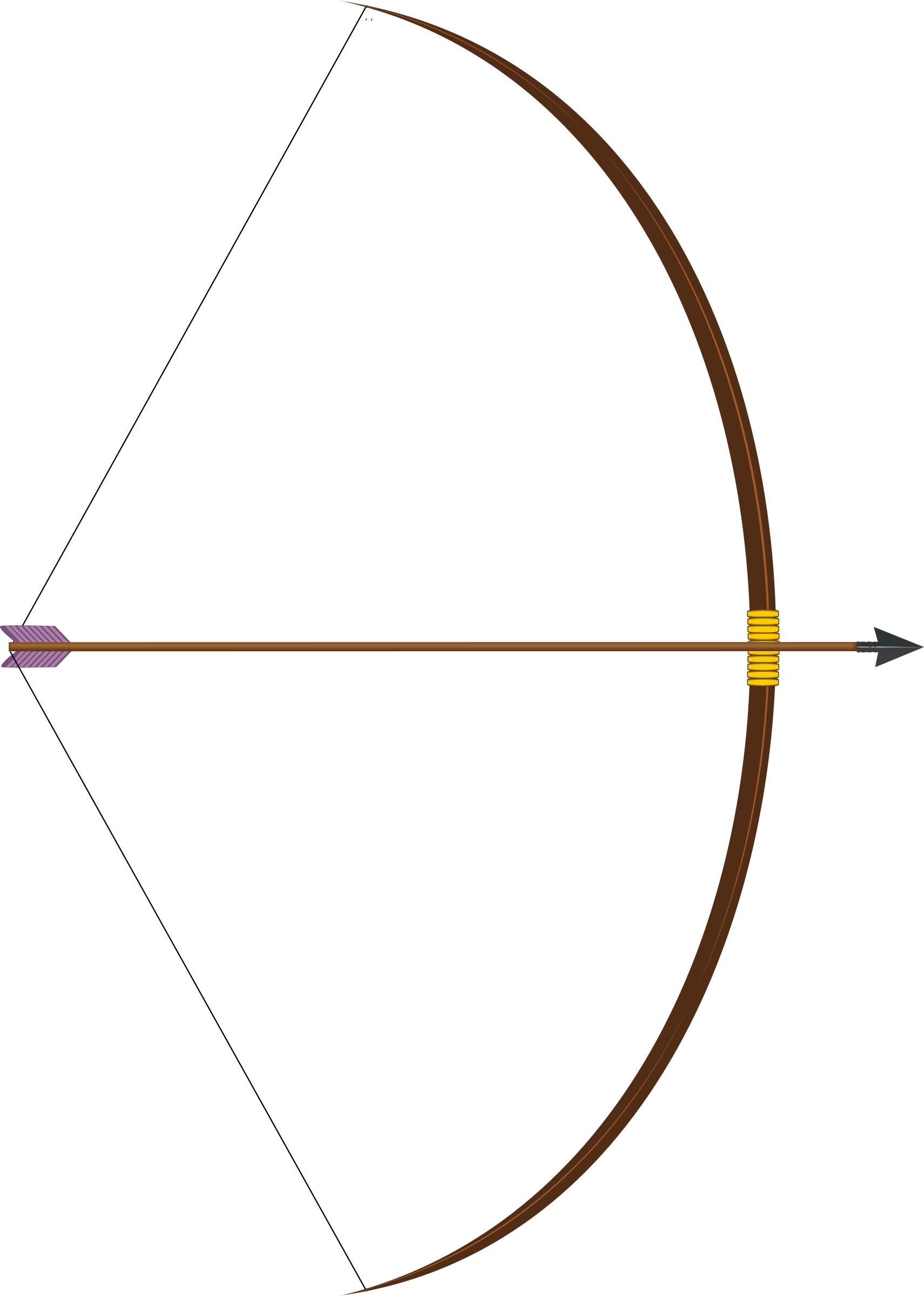 1710x2400 Arrow bow clipart, explore pictures
