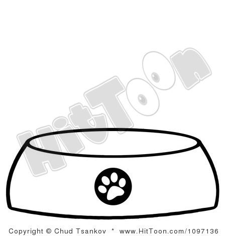 450x470 Bowl Clipart Dog Bowl