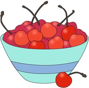 Bowl Of Fruit Clipart