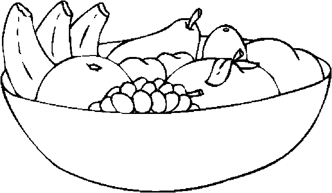 675x393 Fruit Black And White Bowl Of Fruit Clipart Black And White Logo