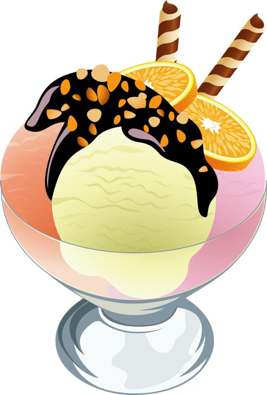 Bowl Of Ice Cream Clipart