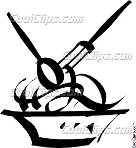 275x300 Bowl Of Spaghetti Vector Clip Art