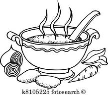 217x194 Bowl Soup Clip Art Vector Graphics. 2,648 Bowl Soup Eps Clipart