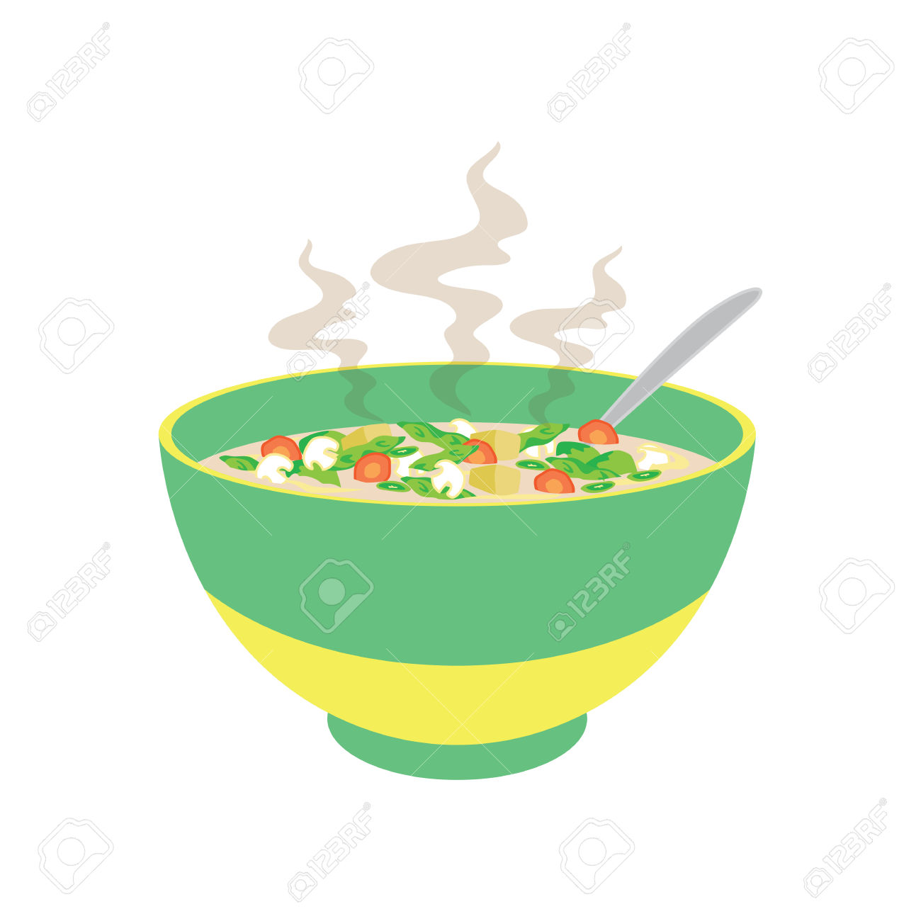 1300x1300 Chicken Soup Clipart Hot Soup