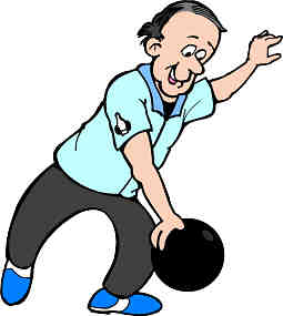 255x285 Bowling Clipart Guy