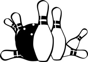 298x210 Vector Clipart Bowling