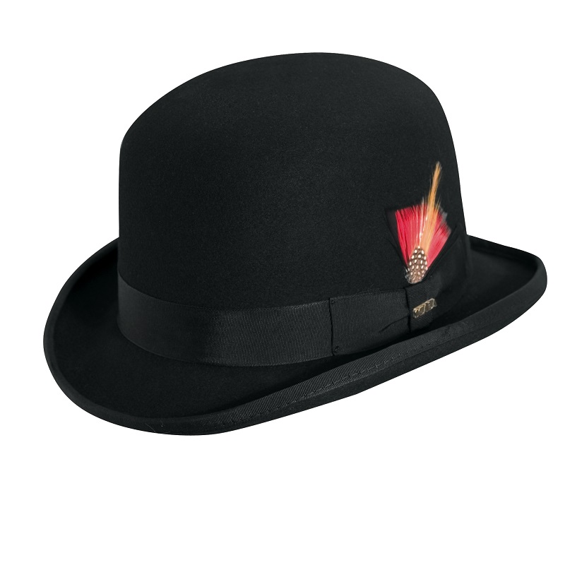 0935de50911 800x800 Dorfman Pacific Men s Wool Felt Derby Bowler Hat