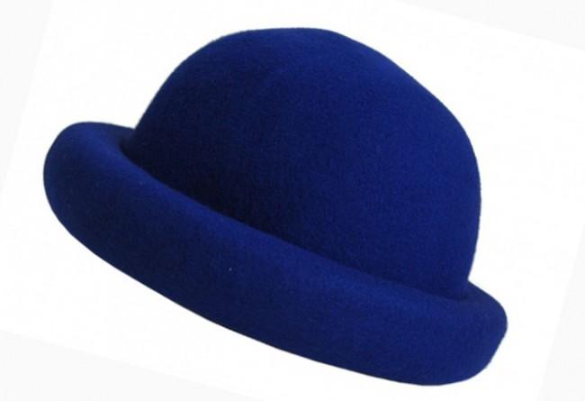 1b0f19434ba 650x445 Derby Rolled Up Brim Bowler Hat