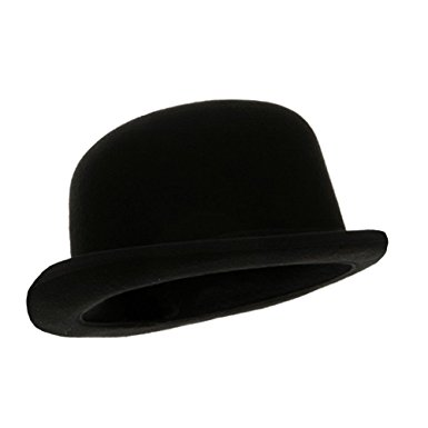 408855fcb89 385x385 Black Blended Wool Derby Hat