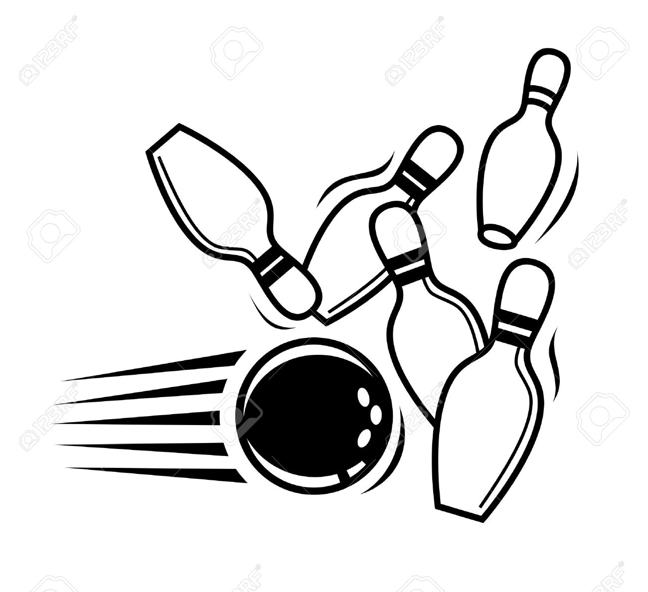 1300x1188 Bowling Clipart Icon