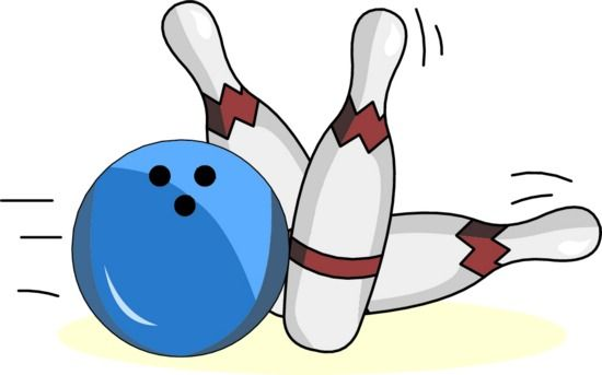 550x343 Free Clipart Bowling