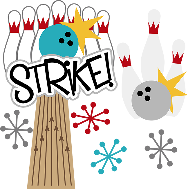 648x651 Bowling Alley Clip Art