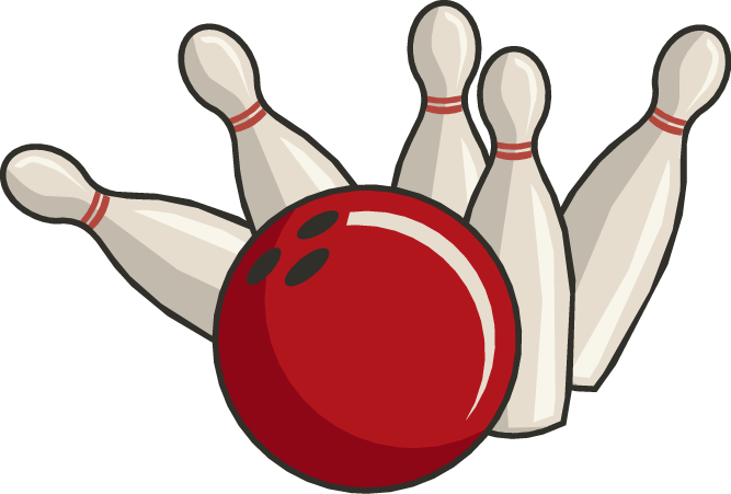 667x451 Bowling Clipart