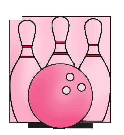 435x472 Bowling Clipart