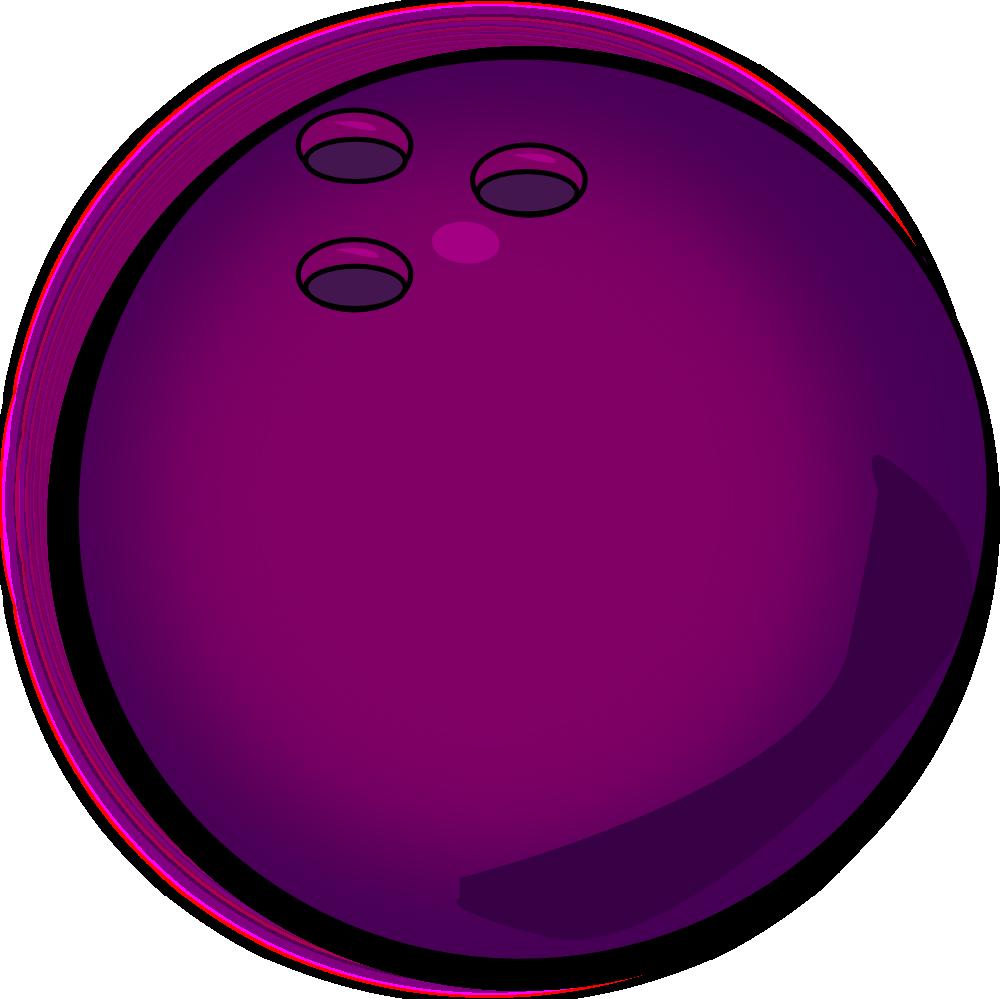 1000x999 Bowling Ball Free Clip Art Clipart Image