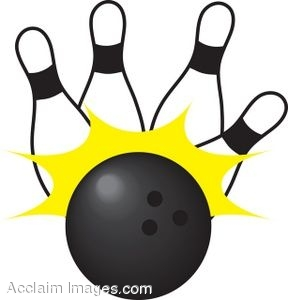 288x300 Clip Art Picture Of A Bowling Ball With Pins