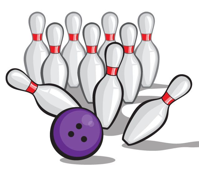 638x548 Bowling Ball Clipart
